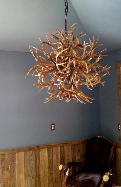 Custom deer antler chandeliers and lighting tumbleweed antler chandelier aloadofball Image collections