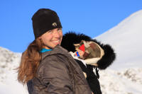 Winter Hiking With A Baby