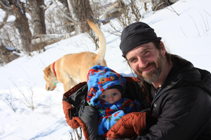 52ed50b31a25 Winter hiking with a baby!