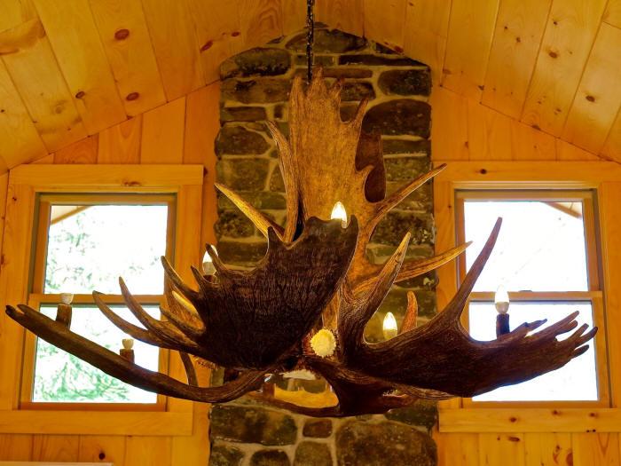 Moose antler chandeliers and lighting 70 inch diameter mchugh peak 680000 mozeypictures Choice Image