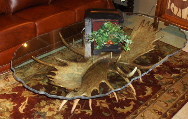 Back To Our Antler Tables.