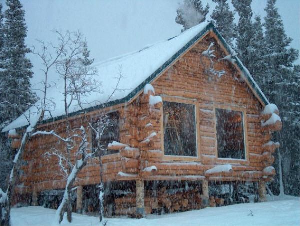 Cabin living in alaska joy studio design gallery best for Alaska log home plans